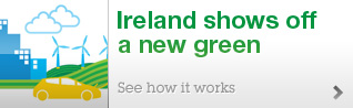 Ireland shows off a new green