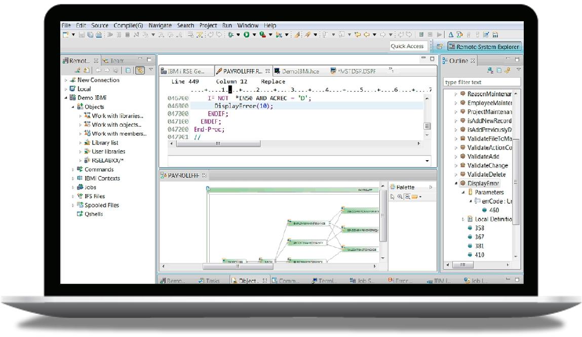 IBM Rational Developer for i