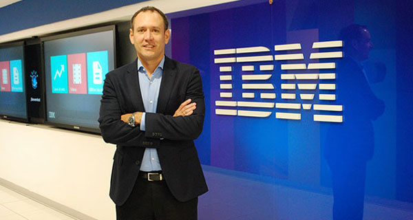 César Campos, nuevo gerente general de IBM Perú