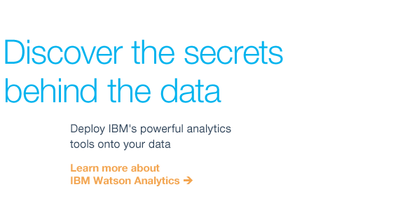 Discover the secrets behind the data