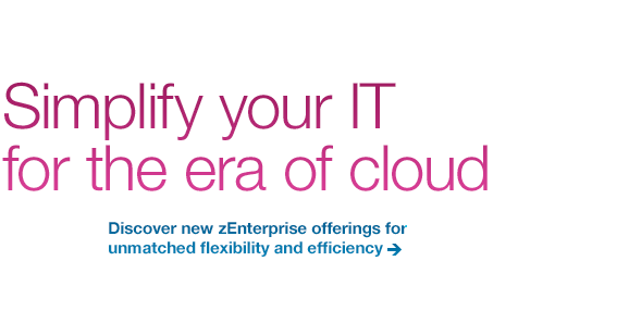 Simplify your IT for the era of cloud