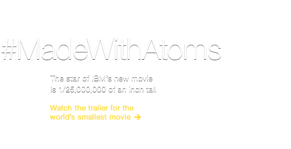 Watch the world's smallest movie