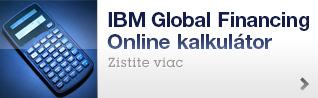 IBM Global Financing Online kalkulátor