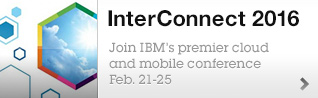 InterConnect 2016. Join IBM's premier cloud and mobile conference Feb. 21-25.