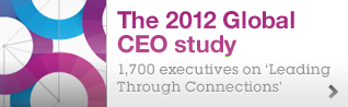 Global. Insightful. The 2012 CEO Study.