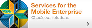 Services for the Mobile Enterprise.Check our solutions
