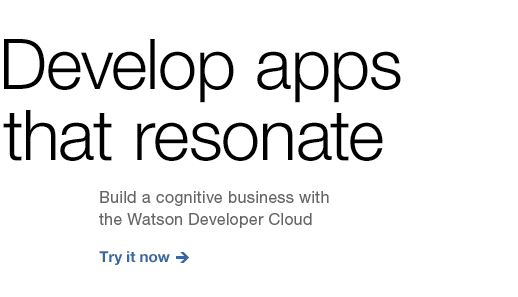 Develop apps that resonate