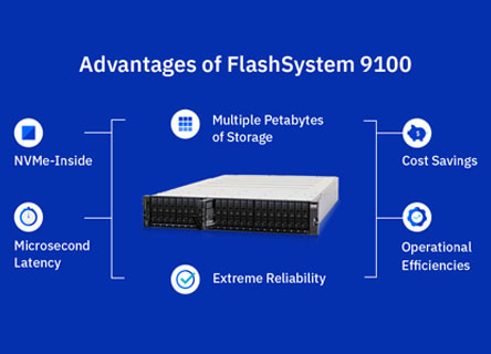 Advantages of FlashSystem 9100