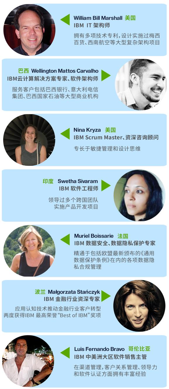 IBM 全球志愿服务队成都团队成员介绍
