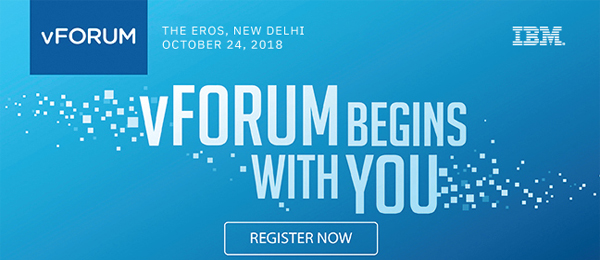 vFORUM jw marriott sahar, mumbai october 16 - 17, 2018 vFORUM begins with you