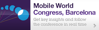 Mobile World Congress, Barcelona. Get key insights and follow the conference in real time.