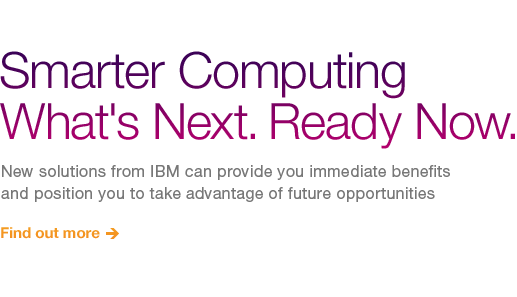 Smarter Computing What's Next.
