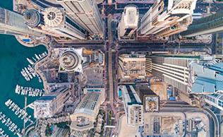 스마트시티 두바이, IBM블록체인으로 실현!