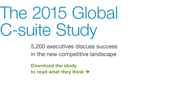 The 2015 Global C-suite Study
