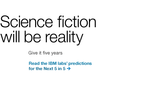 Science fiction will be reality