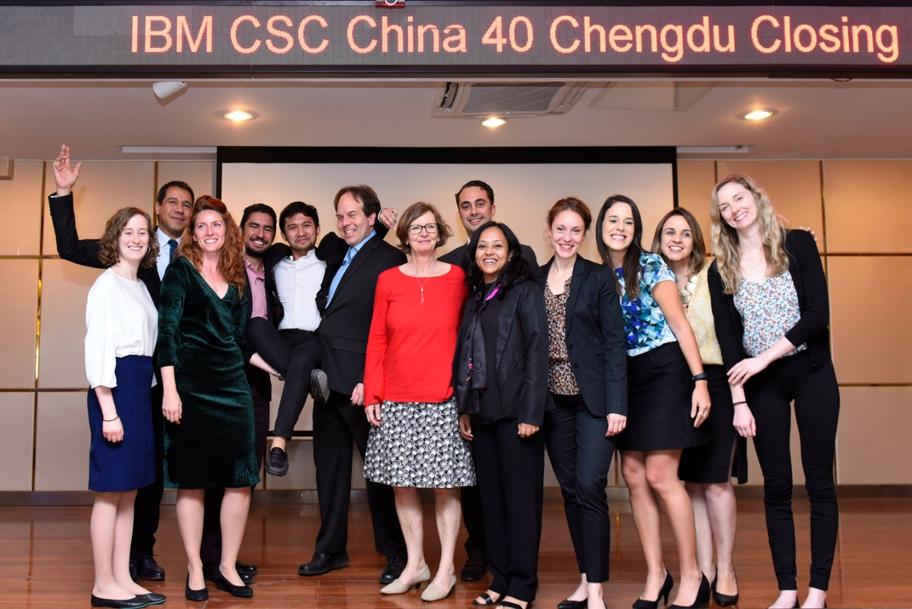 IBM 全球企业志愿服务团队专家成员