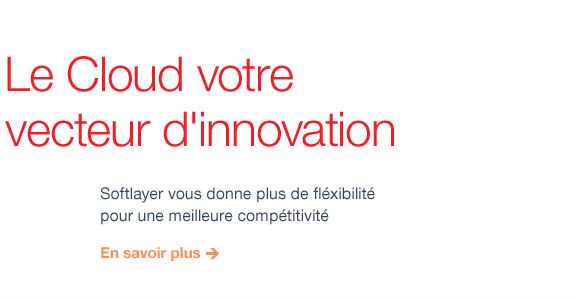 Le Cloud votre vecteur d'innovation