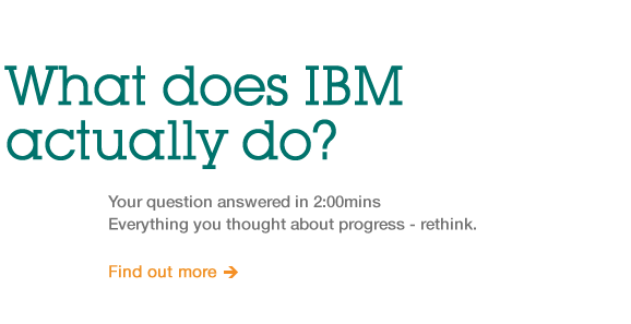 What does IBM actually do?