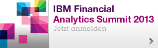IBM Financial Analytics Summit 2013