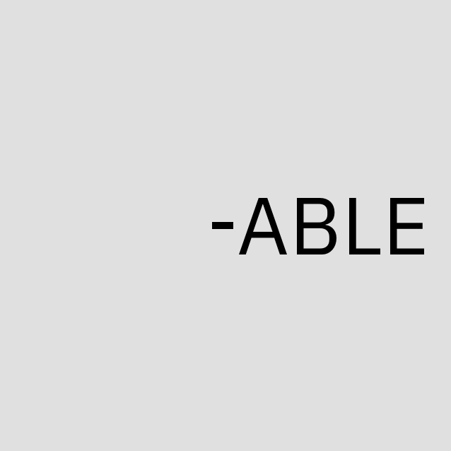 -ABLE Text