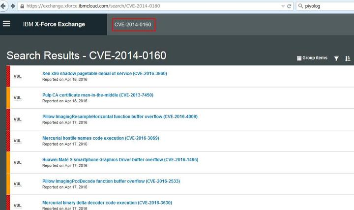 Search on XFE does not return appropriate result recently
