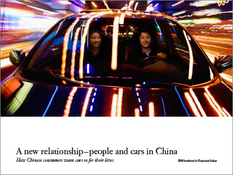 A new relationship - people and cars in China: How Chinese consumers want cars to fit their lives