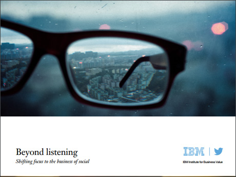 Beyond listening: Shifting focus to the business of social