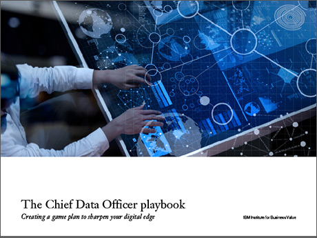 The Cheif Data Officer playbook