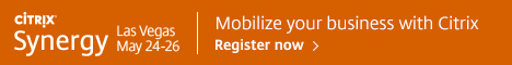CITRIX. Synergy. Las Vegas May 24-26. Mobilize your business with Cirix. Register now.