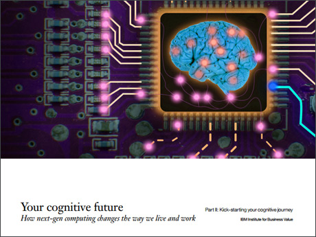 Your cognitive future. How next-gen computing changes the way we live and work. Part II: Kick-starting your cognitive journey. IBM Institute for Business Value. (PDF, 2.1MB)