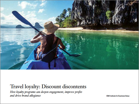 Travel loyalty: Discount discontents. How loyalty programs can deepen engagement, improve profits and drive brand allegiance
