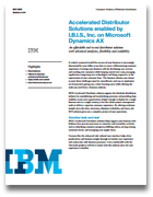 Accelerated Distributor Solutions enabled by I.B.I.S., Inc. on Microsoft Dynamics AX
