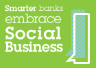 Smarter banks embrace social business.