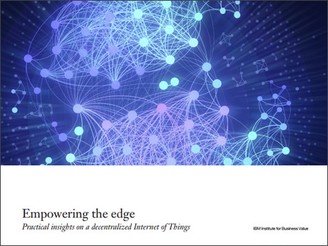 Empowering the edge. Practical insights on a decentralized Internet of Things.