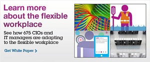 Learn more about the flexible workplace. See how 675 CIOs and IT managers are adapting to the flexible workplace. Get White Paper