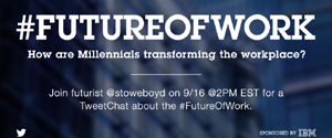 #FUTURE OF WORK. How are Millennials transforming the workplace?