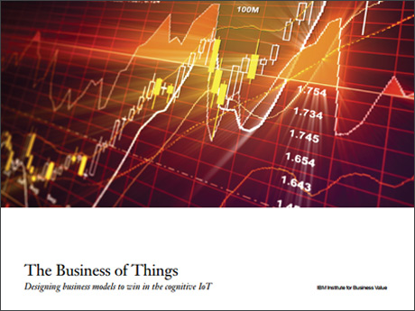 The Business of Things: Designing business models to win in the cognitive IoT