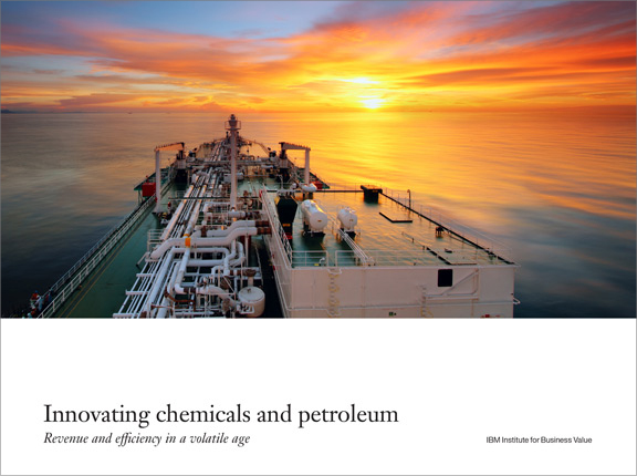 Innovating chemicals and petroleum: Revenue and efficiency in a volatile age
