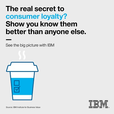 The real secret to consumer royalty? Show you know them better than anyone else. See the big picture with IBM