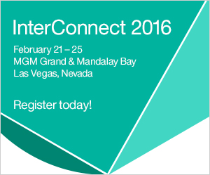 InterConnect 2016. February 21-25, MGM Grand & Mandalay Bay, Las Vegas, Nevada. Register today!