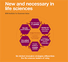 New and necessary in life sciences (PDF, 405KB)