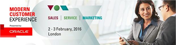 Modern Customer Experience. 2-3 February,2016. London
