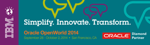 Simplity.Innovate.Transform.Oracle OpenWorld 2014