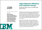 IBM Jegs streamlines and automates key business processes