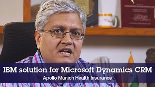 IBM helps Apollo Munich Health Insurance to transform. View the video(00:03:13)