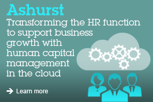Ashurst Transforming the HR function to support business grow with human capital management in the cloud Learn more