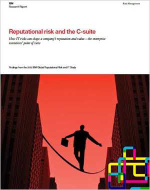 Reputational risk and the C-suite