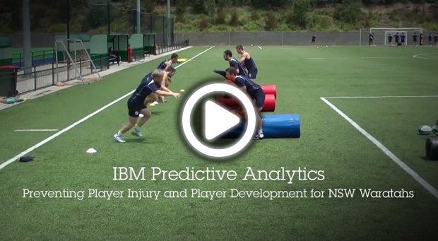 Watch the video IBM Predictive Analytics,Preventing Player Injury and Player Development for NSW Waratahs