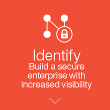 Identify. Build a secure enterprise with increased visibility.