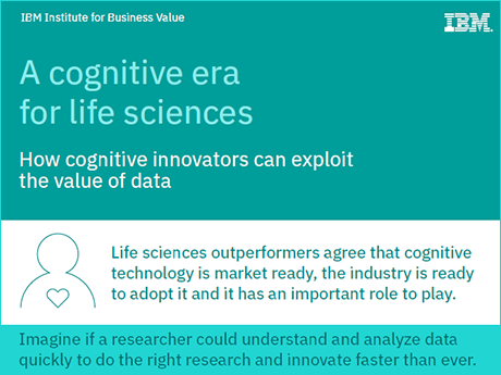 A cognitive era for life sciences: How cognitive innovators can exploit the value of data